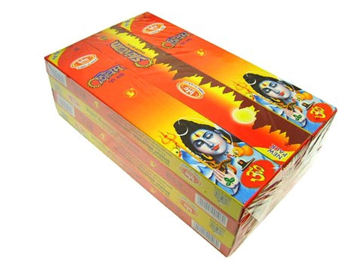 錆び予測寺院BIC(ビック) シヴァム香(レギュラーボックス) スティック SHIVAM REG BOX 12箱セット