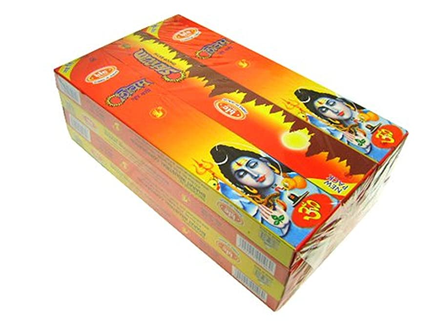 作ります提案する月曜日BIC(ビック) シヴァム香(レギュラーボックス) スティック SHIVAM REG BOX 12箱セット