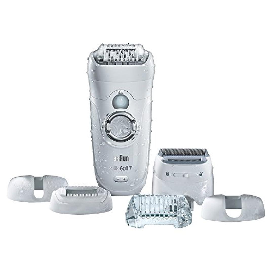 アクロバット動保証Braun ビキニトリマー&電気シェーバーシルク-EPIL 7 7から561女性の脱毛器、電気脱毛、