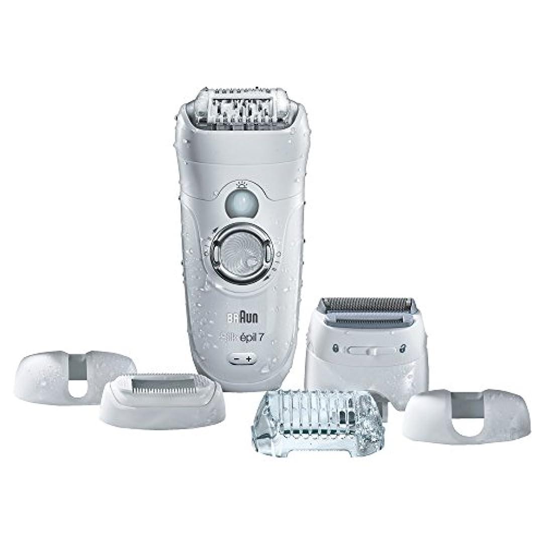 Braun ビキニトリマー&電気シェーバーシルク-EPIL 7 7から561女性の脱毛器、電気脱毛、