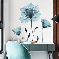 Wuyyii 86×120センチメートル現代3D壁デカール自己接着寝室の壁アートの背景ウォールステッカー家の装飾