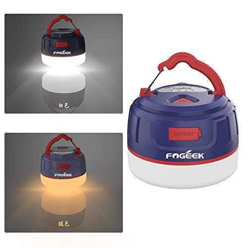 【アップグレード版/更新版】FOGEEK ランタン 暖色 充電式 ledランタン 電球色+昼白色 5...