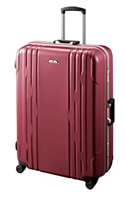 [ワールドトラベラー] World Traveler カイラリティ スーツケース 73cm・91リットル・6.2kg(ACE製) 05438 10 (レッドカーボン)