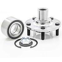 [1パック] 518519 - フロントホイールハブとベアリング修理キット 2010-2013 フォード トランジットコネクト用 [相互参照:SKF BR930529K] プレミアム品質
