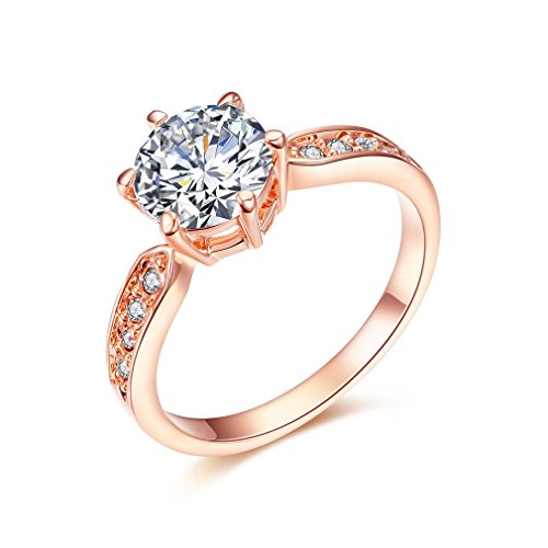 [ベラ バリー] Bella Barry ウエディング CZダイヤ リング レディース 婚約指輪(ラウンド形)