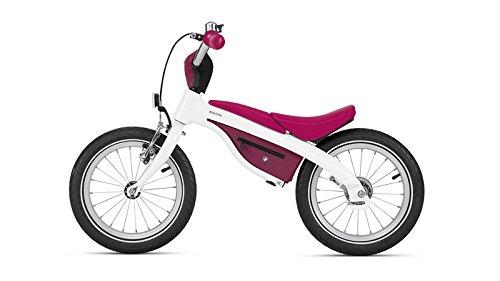 BMW Kids Bike–ホワイト/ラズベリー