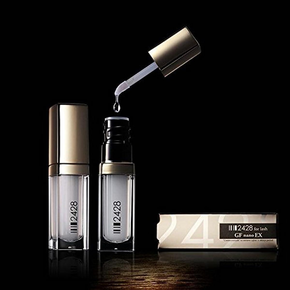 阻害する一構造美容液2428 for lash GF nano EX まつげ美容液
