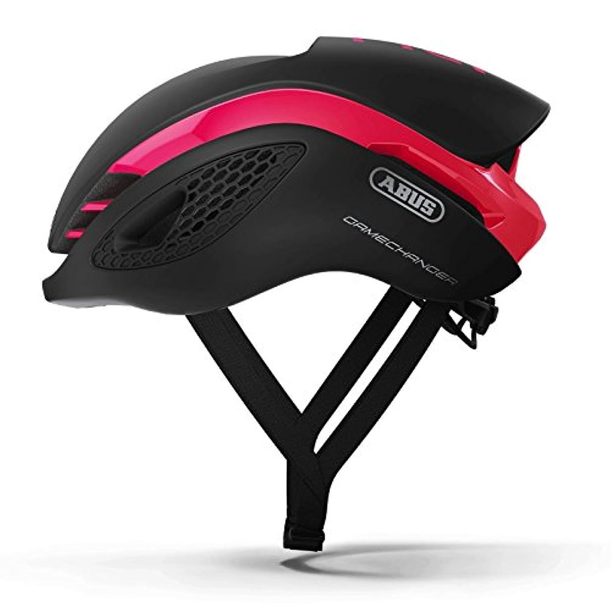 不測の事態乗り出すパステルABUS(アブス) GameChanger サイクリング ヘルメット - Fuchsia Pink (フクシアピンク) [並行輸入品]