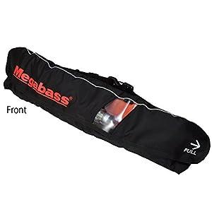 メガバス(Megabass) LIFE SAVER(WAIST)(ライフセーバー) BLACK MEGABASS 34521