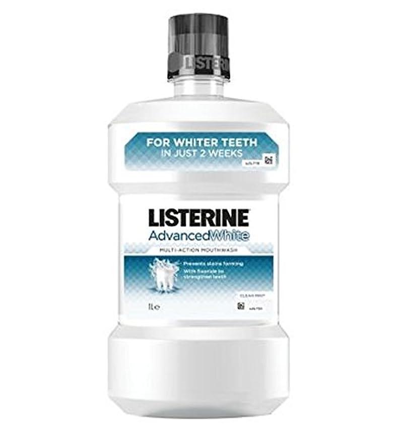 しないでください一般北リステリンは白いマウスウォッシュを進めた - 千ミリリットル (Listerine) (x2) - Listerine Advanced White Mouthwash - 1000ml (Pack of 2) [並行輸入品]