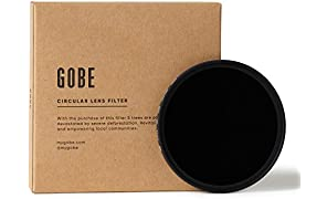 Gobe 77mm ND1000 (10 Stop) ND Lens Filter (2Peak)