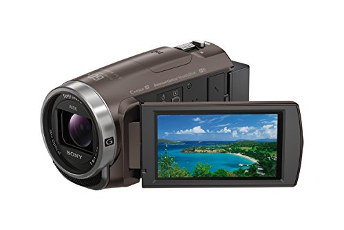 ソニー SONY ビデオカメラ Handycam 光学30倍 内蔵メモリー64GB ブロンズブラウンHDR-CX680 TI