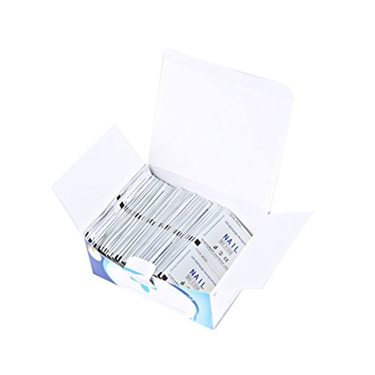 貨物上流の本MakeupAcc ネイルリムーバーホルム 使い捨て 200枚 高効率 使いやすい [並行輸入品]