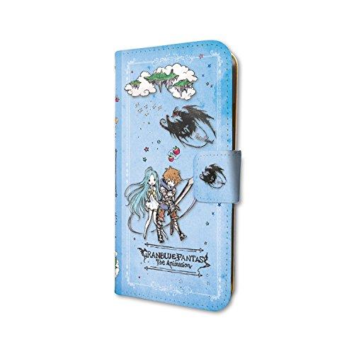 グランブルーファンタジー ジ・アニメーション 01 旅の途中(グラフアートデザイン) 手帳型スマホケース iPhone6/6S/7/8兼用