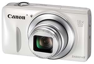 Canon デジタルカメラ Power Shot SX600 HS ホワイト 光学18倍ズーム PSSX600HS(WH)