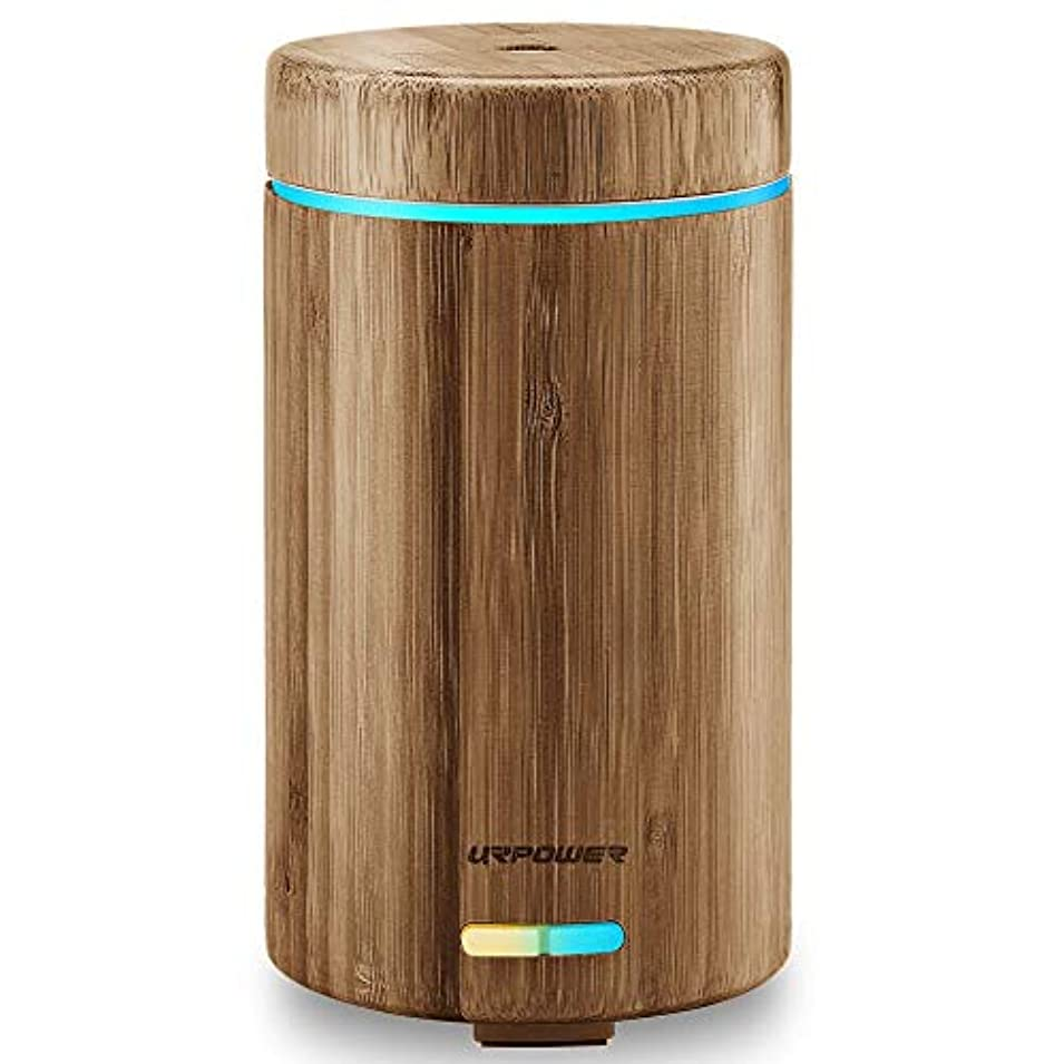 スクレーパーファッション入札URPOWER 300 ml Aromatherapy Essential Oil Diffuser with 4タイマー設定とWaterless自動遮断 300ml OD13