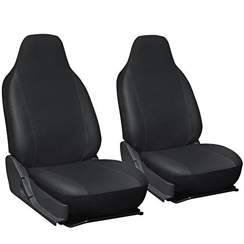 MIFO 汎用シートカバー 運転席と助手席 2個セット シートを汚れから守るシートカバー HR-HT...