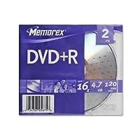 Memorex DVD+R 2PK 16X Slim 05675 [並行輸入品]