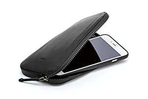 Bellroy All Conditions Phone Pocket - Plus ウォレット Black
