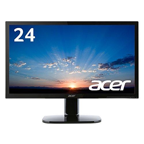 Acer ディスプレイ モニター KA240Hbmidx 24インチ/HDMI端子付/スピーカー付/ブルーライト軽減
