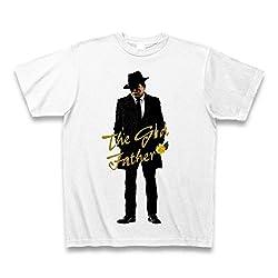 (クラブティー) ClubT 【Father's Day】ギャングスタイル麻生太郎 The Godfather Style Tシャツ(ホワイト) M ホワイト