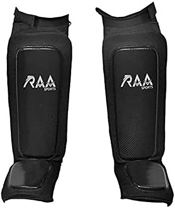 Javson Shin Instep Guards Pads MMA Legs Foot Protection Training Kick Boxing AU