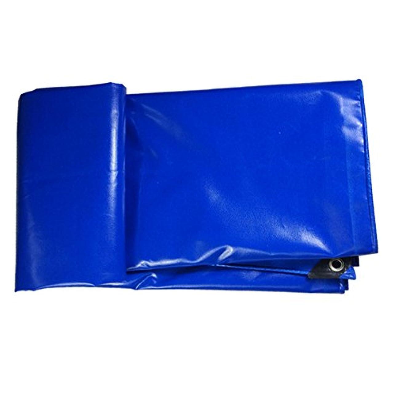 ワードローブストレスの多い生活WJ タープ- ヘビーデューティブルーポリタフカバー - 厚い防水性、耐UV性、腐敗性、裂け目および裂け目グロメットと強化エッジ付きの防水シート500g /m²-0.5mm /-/ (Size : 5mx6m)