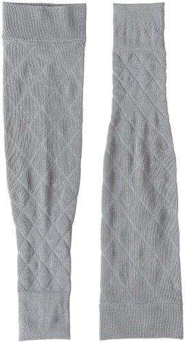 クツシタサプリ 靴下サプリ 二の腕着圧すっきりアームカバー X737-990 Lグレー L