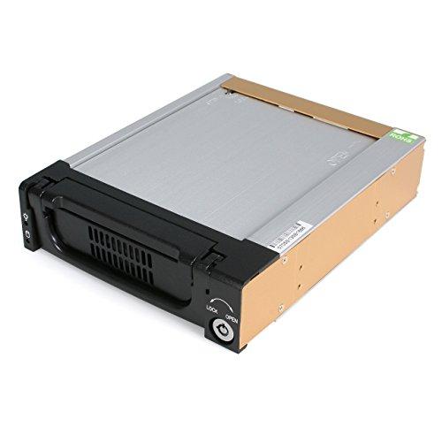 StarTech 5.25インチベイ内蔵型3.5インチSATA HDD用ハードディスクケース DRW150SATBK 1個
