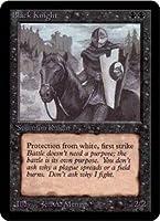 英語版 リミテッド・エディション・アルファ Limited Edtion Alpha LEA 黒騎士 Black Knight マジック・ザ・ギャザリング mtg