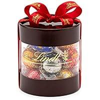 リンツ (Lindt) チョコレート リンドール [バレンタインギフトボックス] 個包装 12個入り 6種類ショッピングバッグS付