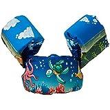 子供用浮力スーツ フローティングスリーブ PVC素材 2-6歳の子供 泳ぐことを学ぶ 流体力学デザイン ユニセックス