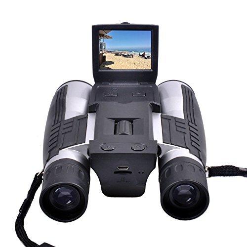 """双眼鏡カメラ,Camking 720P デジタルカメラ 双眼鏡カメラ(2 """"LCDスクリーン付)"""