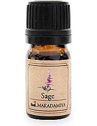 セージ5ml 天然100%植物性 エッセンシャルオイル(精油) アロマオイル アロママッサージ aroma Sage