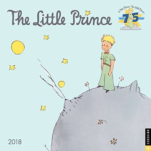 The Little Prince 2018 Wall Calendar