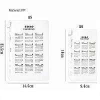 JIANWUフェルトシェル生地メモ帳ルーズリーフインナーコアA6、A7ノートブック日記A5プランバインダーオフィス用品リングバインダー