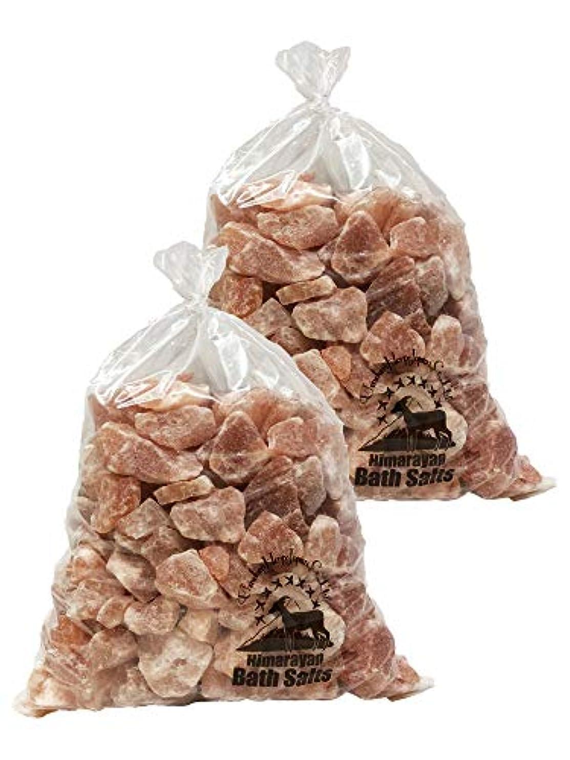 咲く伝記写真を描くヒマラヤ岩塩 バスソルト ピンク ブロック 20kg