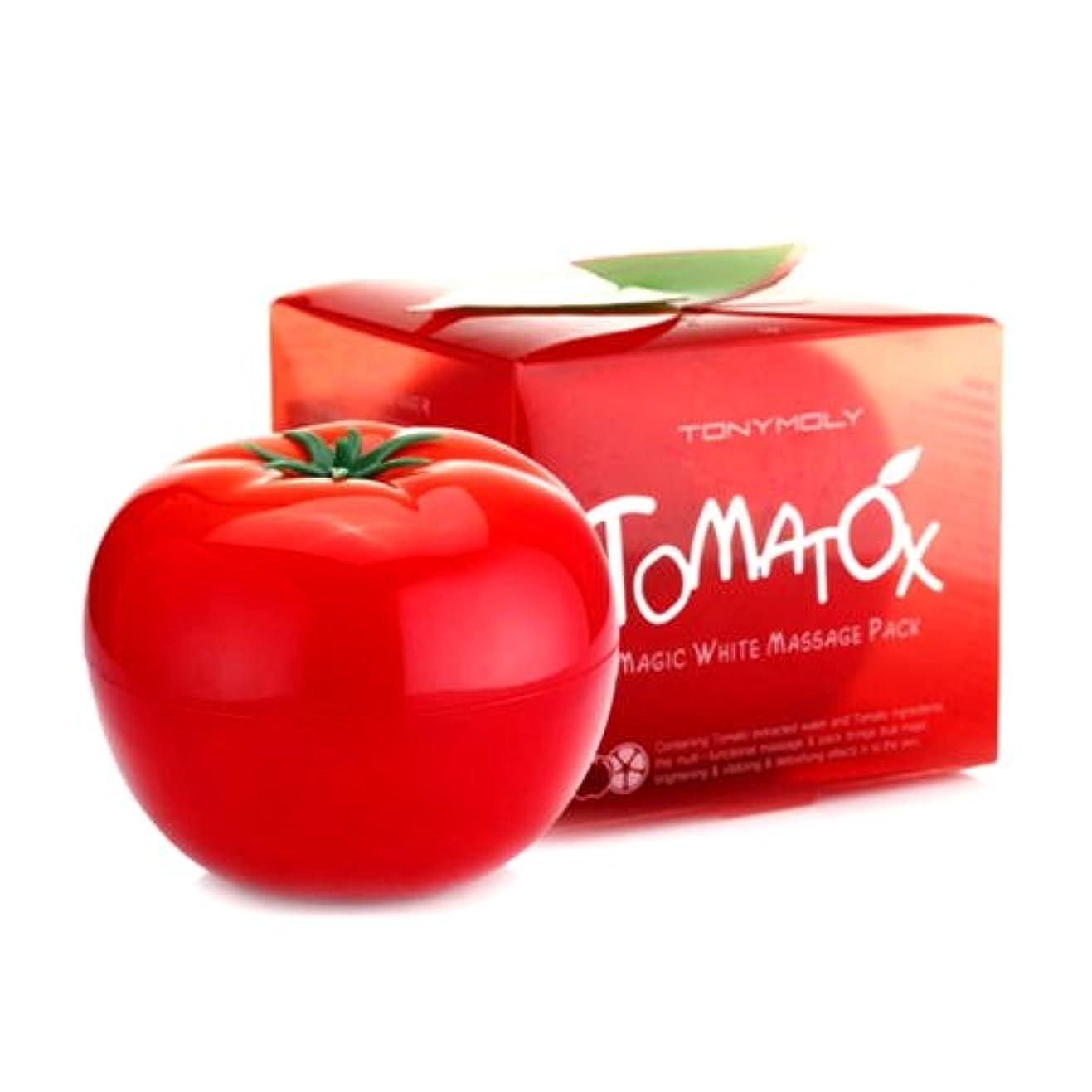 前部恐れる何でも(6 Pack) TONYMOLY Tomatox Magic Massage Pack (並行輸入品)