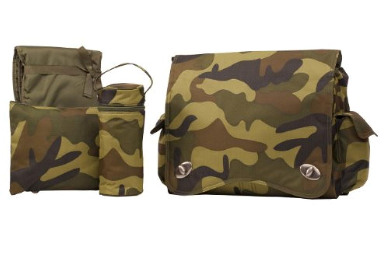 Kalencom Sam's Duck Duck Goose Messenger Bag, Green by Kalencom