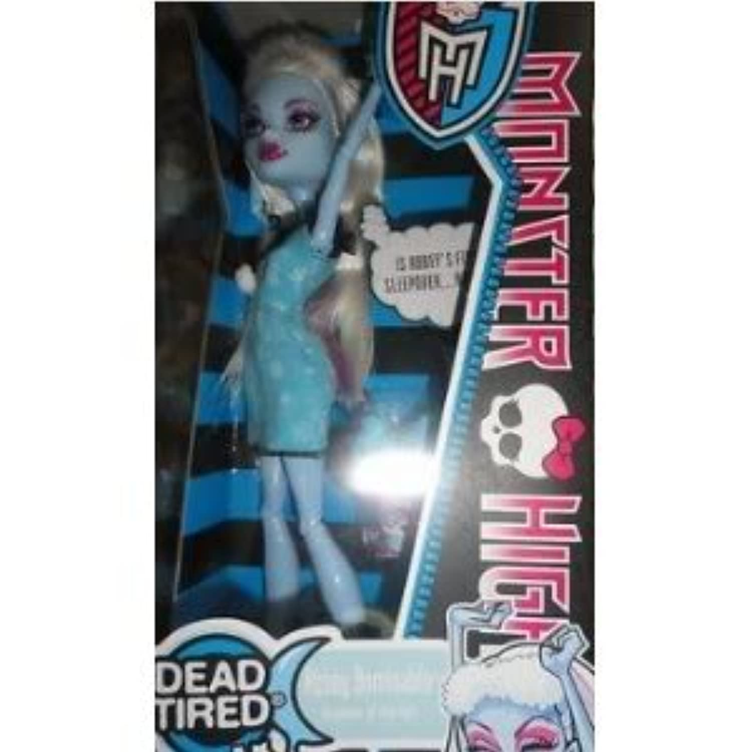 Toy / Game Monster High Dead Tired Abbey Bominable Doll – Together for aお泊まり会& Some Scary Fun Ghoul時間