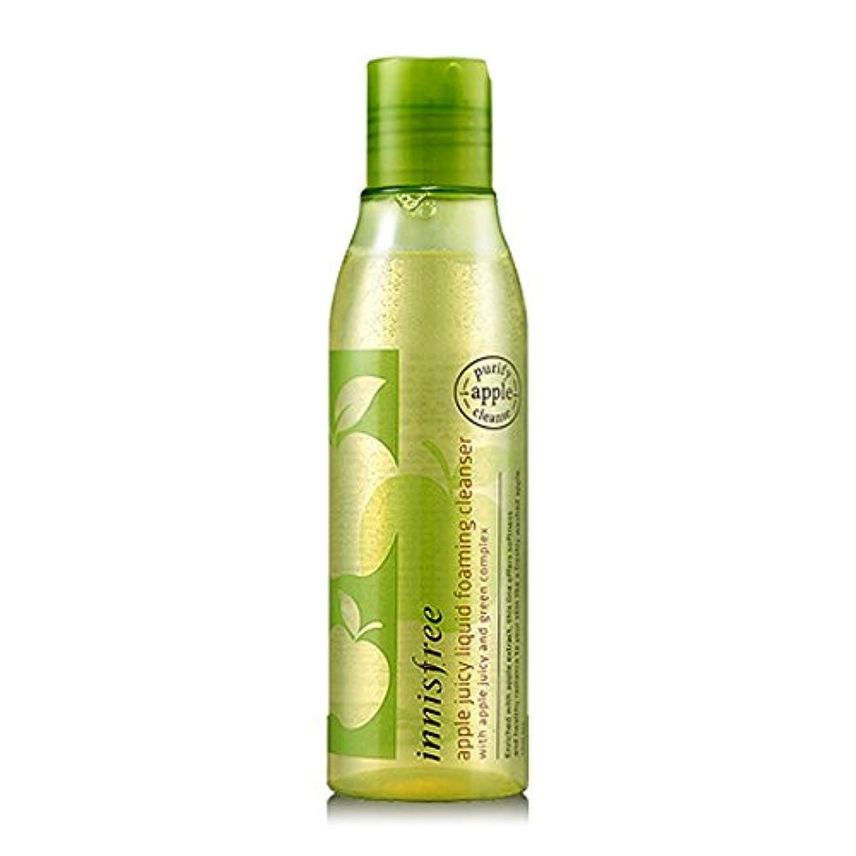なんとなくユーモラス炭素[イニスフリー Innsfree] Apple Juicy Liquid Foaming Cleanser 150ml
