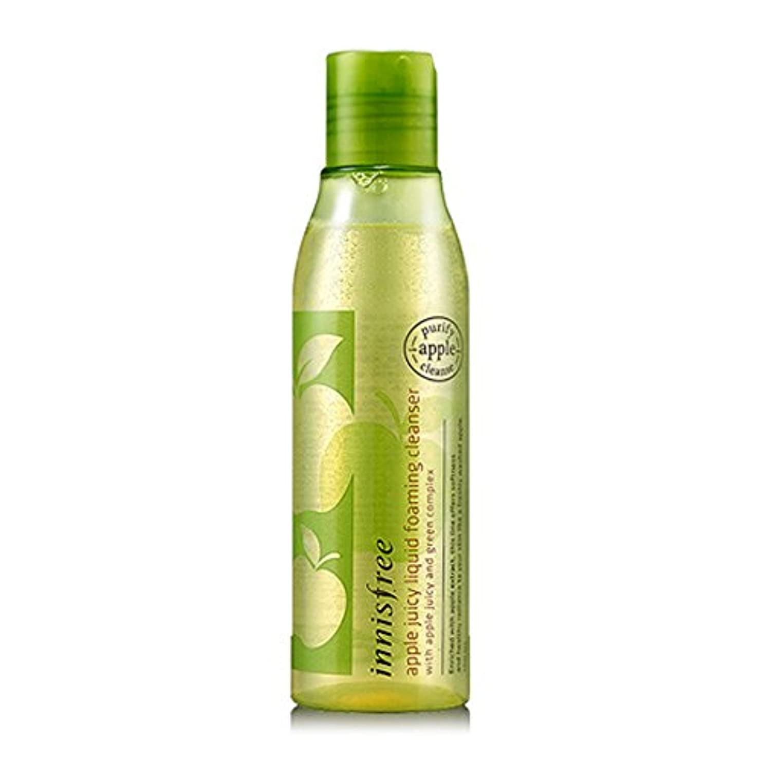 学士通り地味な[イニスフリー Innsfree] Apple Juicy Liquid Foaming Cleanser 150ml