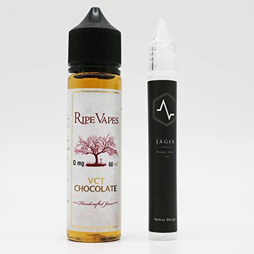 電子たばこ VAPE リキッド RIPE VAPES VCT CHOCOLATE チョコレート 60ml with オリジナルユニコーンボトル15ml