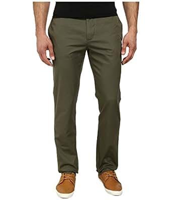 [ラコステ] Lacoste メンズ Regular Fit Twill Chino ボトムス Safari Green 30 (EUR 38) [並行輸入品]