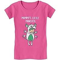 Mommy's Little Monster Children's Cute Toddler/Kids Girls' Fitted T-Shirt