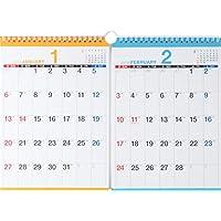 高橋 2019年 カレンダー 壁掛け 2ヶ月 B5×2面 E94