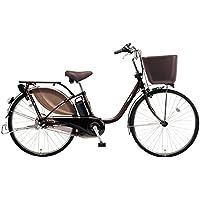 Panasonic(パナソニック) 2018年モデル ビビ・KD 26インチ カラー:ビターブラウン BE-ELKD63-T 電動アシスト自転車 専用充電器付