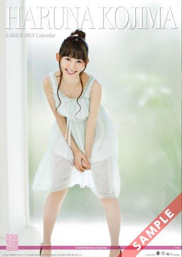 壁掛 AKB48-07小嶋 陽菜 カレンダー 2013年 -