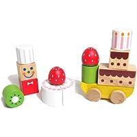 木のおもちゃ 知育玩具 ケーキショップ