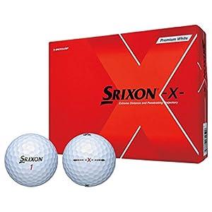 DUNLOP(ダンロップ) ゴルフボール SRIXON -X- ゴルフボール 1ダース(12個入り) プレミアムホワイト